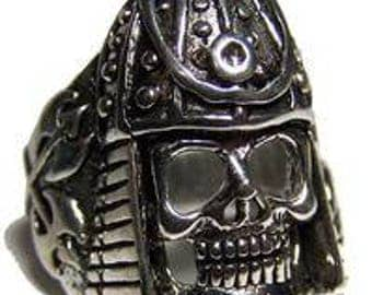 Medieval Armored Soldier Skull