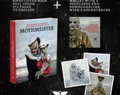 Mothmeister - hard cover book + wallet with 9 tracks soundscape download code + 3 postcards