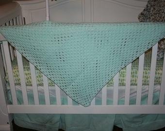 Aqua Baby blanket