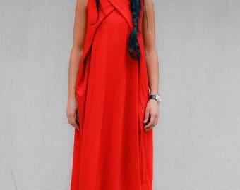 sale 25% off red long loose dress, kaftan maxi dress, Kaftan Dress, bohemian dress, bohemian maxi dress, long loose dress, oversized dress,