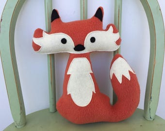 Woodland Fox Softie Toy, Perfect for Nursery!