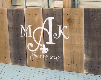 Wedding Signs Wood - Pallet Sign - Welcome Wedding Sign - Welcome to our Wedding Sign - Pallet Signs - Wood Pallet Sign -Custom Wooden Signs