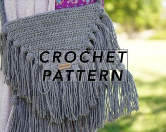 The Jethro Bag Pattern | crochet bag pattern | crochet pattern | boho bag |  | instant PDF download | digital pattern | picture tutorial