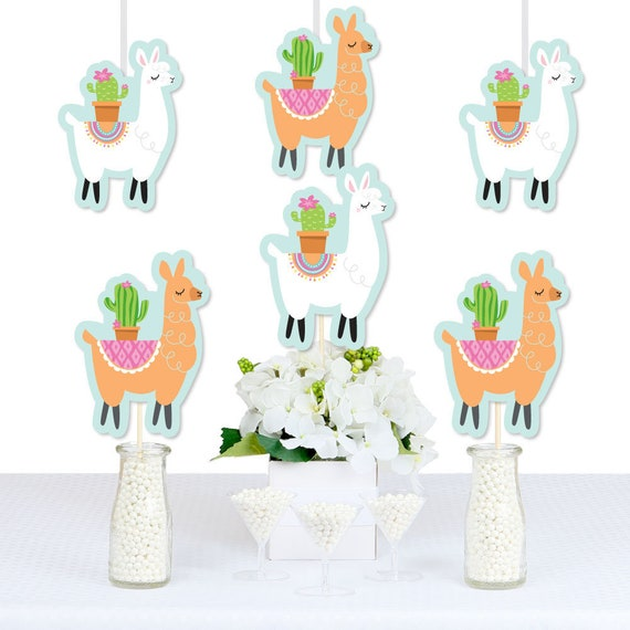 Whole Llama Fun - DIY Decorations Party Essentials - Llama Fiesta ...