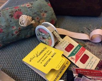 vintage sewing notions