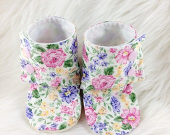 Softsole Tall Booties, Booties, Crib Shoes, Tall Booties, Baby Booties, Baby Shoes