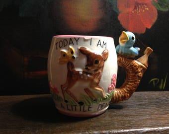 Child's Whistle Mug - Today I am a Stinker Today I am a Dear