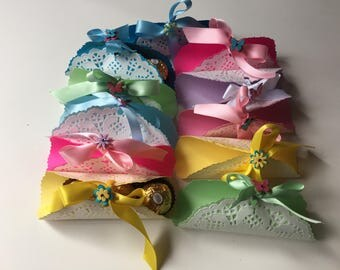 Set of 12 party favors, Baby Showers Baptisms & First Communions Anniversaries Birthdays