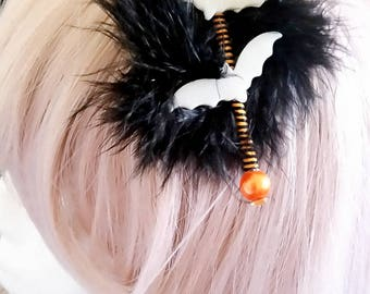 batty hair clip