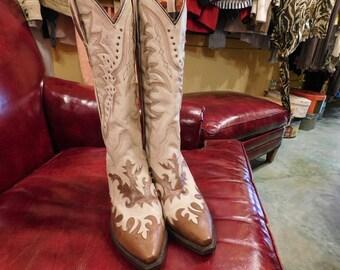 Dan post cowboy boots 8 1/2 /Western/ women's/ Texas/