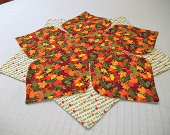 Fall table topper, Fall table runner, Autumn decor
