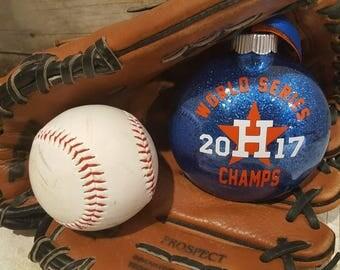 2017 World Series Houston Astros Ornament