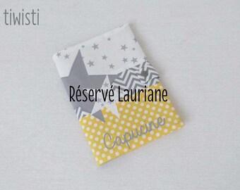 Réservé Lauriane : protège livret de famille personnalisé
