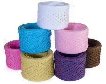 Paper Raffia Ribbon - 100 Meters
