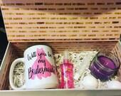 Bridesmaid gift set, Bridesmaid mug, Bridesmaid gift, gifts for her, wedding gifts, will you be my bridesmaid, Bridesmaid proposal gifts