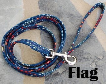 StitchPet Dog and Pet Leashes - Flag