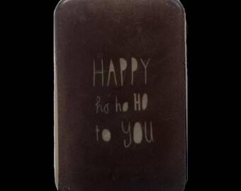 "Fantasy and original soap "" Happy Ho Ho Ho To You "" Gingerbread fragrance"