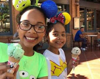 Toy Story Alien Ears, Disneyland, Disney World, Mickey Ears, Halloween