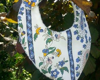 bandana bib Terry cloth and fabric