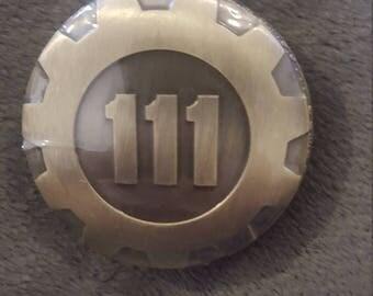 Fallout Vault 111 Pocket Watch