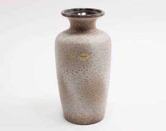 Vintage Scheurich West Germany vase no 202-30, German pottery MCM Fat lava retro WGP