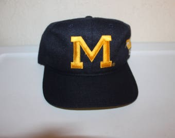 Vintage 90's University of Michigan Wolverines Snapback by Sports Specialties