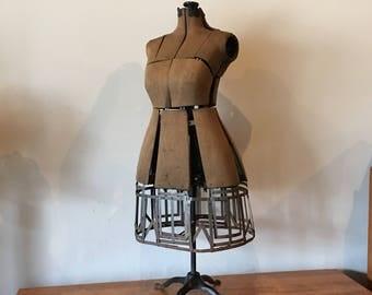 Antique dress form   Etsy
