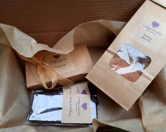 Raw Vegan Chocolate Gift Box - Organic and fairtrade!