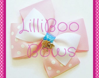 Handmade Bo Peep Toy Story Inspired Hair Bow
