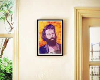 Father John Misty Poster