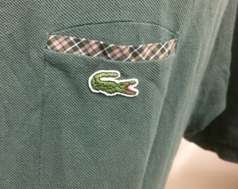 Vintage Lacoste polo shirt size 8