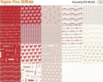 AUG10 Love Charm Pack by Sandy Gervais for Moda Fabrics