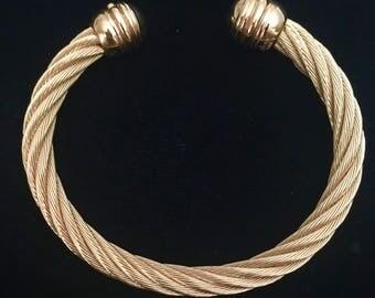 Joan Rivers Twisted Cuff / Bracelet