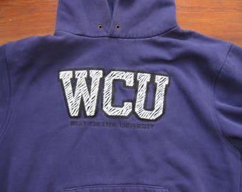 West Chester University Sweatshirt Hoodie WOMENS Medium