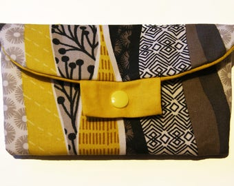glasses case in ethnic pattern fabric