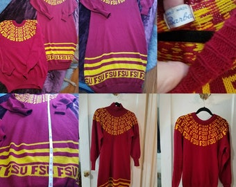 His and Hers FSU Sweater/Sweater Dress