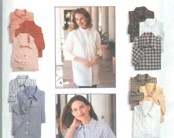 Simplicity Pattern #9818 Size Y (18,20,22) Misses Shirt