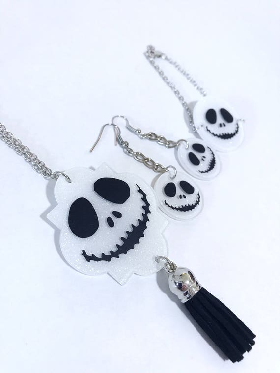 The nightmare before christmas Jack skellington necklace gift