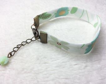 Bronze bracelet Liberty Mirabelle Green