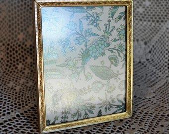 Vintage Gold Metal Picture Frame, 4 x 5 in. Picture Frame, Vintage Frame