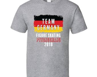 Team Germany Figure Skating Pyeongchang 2018 Olympic T Shirt