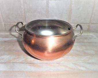 Vintage 3 1/4 inch metal bowl