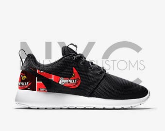 Louisville Cardinals Nike Roshe One Custom Men Women & Kids