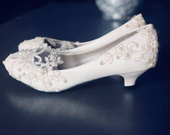 Shop for lace wedding shoes on Etsy