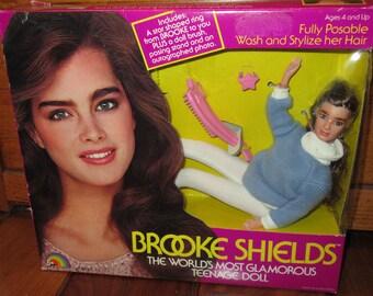 1982 Brooke Shields Teenage Doll in the Original Box