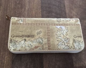 Custom made game of thrones inspired purse