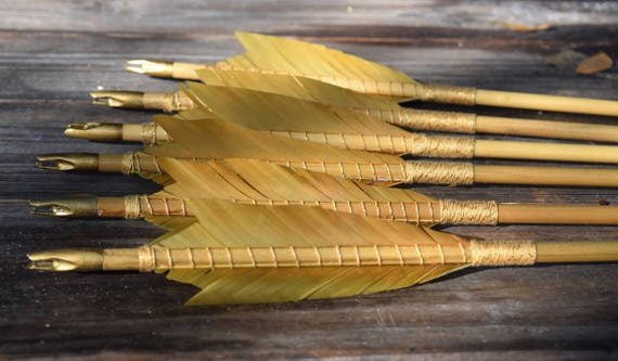 Archery arrows, poplar, medieval, Hobbit inspired arrows