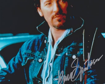 Bruce Springsteen Original Vintage Hand Signed 8X10 Autographed Photo