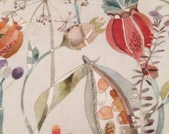 Handmade Voyage Kelston Cinnamon Linen Mix Fabric Lampshade