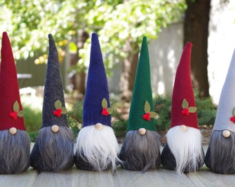 Nordic Gnomes, Christmas Gnomes, Scandinavian Gnomes, Gifts for Her, Hostess Gift, Get Well Soon Gift, Nisse, Tomte, Scandinavian Gnome